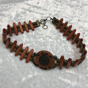 Vintage BoHo Adjustable Artisan Distressed Belt